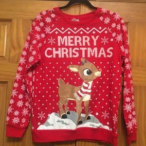Rudolph the Red Nosed Reindeer Top Medium